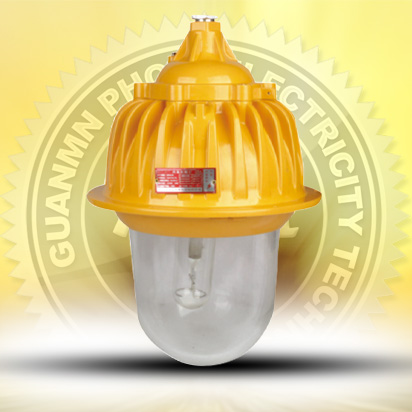 Inside explosion-proof lighting